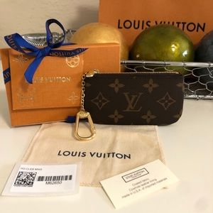 Louis Vuitton Key card holder pouch key cles NWT